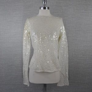 NWT Laundry Mohair Sequin Sweater - M